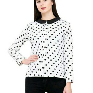 Women Polka dots Regular Fit Tops