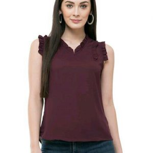 Women's Regular fit Sleeveless Top